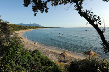 camping bagheera corse naturiste