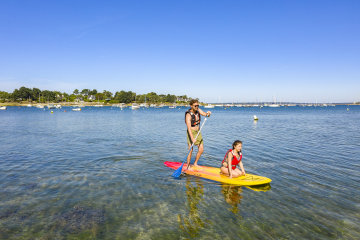 camping le cabellou plage finistere