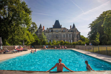 camping chateau la foret vendee