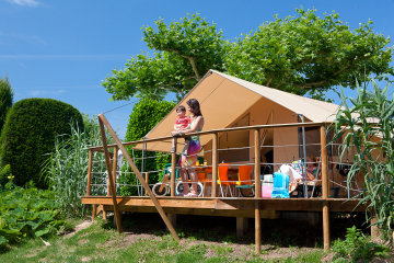 camping luxe le paradis