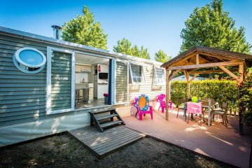 Mobil home TIKI HUT Prestige 33m² 3 rooms - Californie Plage