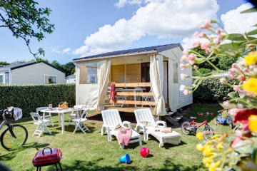 « Tit'Home » TENT COTTAGE – 4-berth. 20m2 – 2 bedrooms - Airotel La Pommeraie de l'Océan