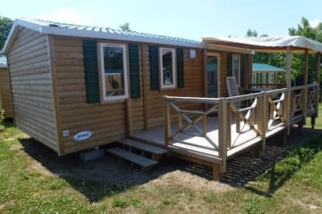 Mobil-home Resort + Top Presta - Domaine des Forges