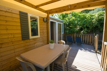 Mobilhome Terrasse (2 chambres) - Les Cent Chênes