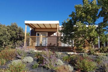 Mobile home LAVANDE 26m² gamme GRAND CONFORT climatisé - Domaine des Sources