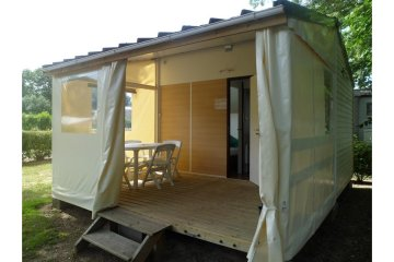 Lodge Tithome without toilet block 21m² - Domaine des Sources