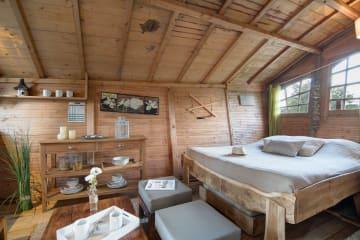 Cabane ZEN 2 Chambres avec Terrasse - International de Maisons-Laffitte