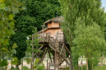Cabane MAGIC 2 Chambres avec Terrasse - International de Maisons-Laffitte