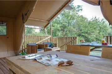 Ciela Nature Lodge - 40m² - 2 chambres - Salle de bain - La Farigoulette
