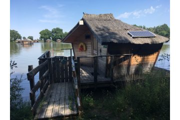 Wooden cabin OISEAU DU PARADIS (2 adults + 1 children) - 30 m² / 1 bedroom - Village Flottant de Pressac