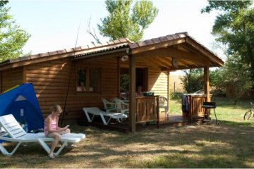 2 bedroom Espace wooden Chalet - Le Moulin