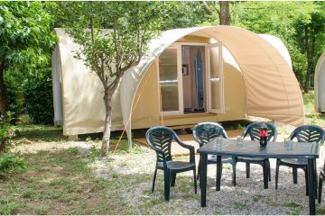 Equipped tent Coco sweet 2 rooms - Les Plans