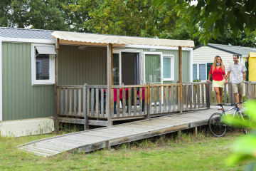 Mobile-home Confort adapted to the people with reduced mobility - 2 bedrooms - 32 m2 - de la Plage