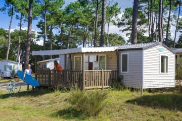 Mobil-home 2 bedrooms - Club Les Embruns