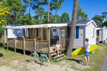 Mobil-home Comfort 3 bedrooms - Club Les Embruns