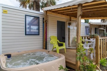 Cottage SPA + TV + Clim - L'Oasis et California