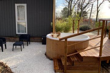 Gîte KW spa privatif - Les Ventoulines Village & Spa