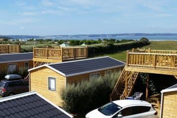 Cottage LUXE 2 chambres + terrasse PANORAMIQUE vue mer - La Plage de Tréguer