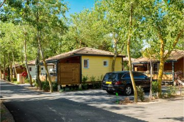 Chalet SUP Camping 2 chambres - Les Sablons