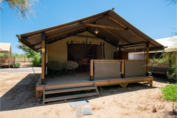 Tente LODGE Camping 2 chambres - Les Sablons