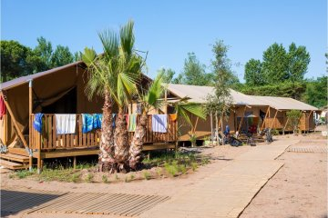 Tente LODGE SUP Camping 2 chambres - Les Sablons