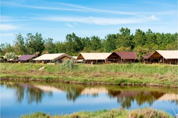 LODGE tent Etang 2 bed rooms - Les Sablons