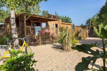Cabane Canardière 3 chambres PREMIUM climatisée - Le Sérignan Plage