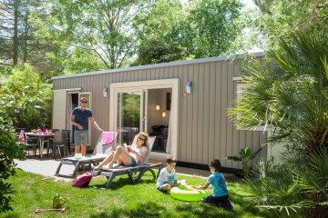 Cottage 3 (3 bedrooms, 40 m², 2 bathrooms) terrace, airconditioning - La Sirène