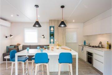 Cottage 2 (2 bedrooms, 40 m², 2 bathrooms) terrace, airconditioning - La Sirène