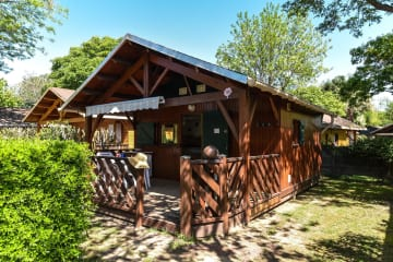 Chalet in wood + 12 years  (Phénix 20m²) - Les Galets
