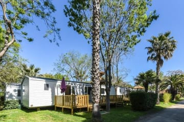 PREMIUM mobile home 3 bedrooms, 2 bathrooms, dishwasher and air conditioning included - Les Galets