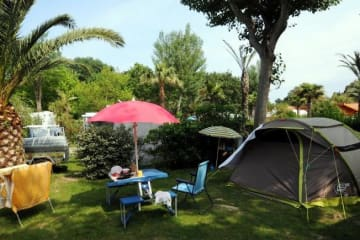 Package Camping Confort : electricity - car -  2 people - Les Galets
