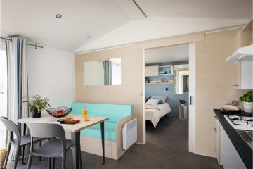 2019: NEW MOBILE HOME - 2 bedrooms - 4/5 pers - LIFE designed for disabled people - 30.50 m2 ... - La Garangeoire
