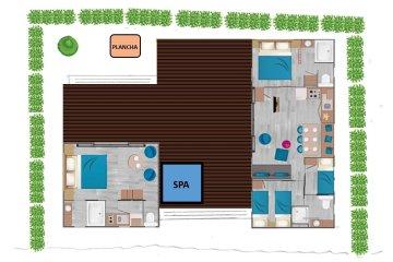 Sunêlia Luxe Taos Suite 59m² 4 ch - L'Hippocampe