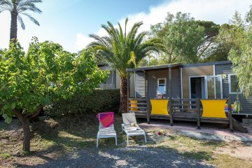 Cottage MANHATTAN *** (air-conditioning) - 2 bedrooms - Domaine du Colombier