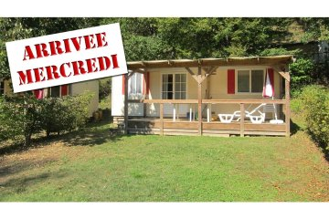 Mobil-Home PRIVILEGE  2 rooms (Wednesday to Wednesday) - Le Moulin de David