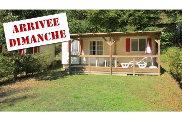 Mobil-Home PRIVILEGE 2 rooms (from Sunday to Sunday) - Le Moulin de David