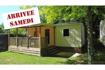 Mobil-home SENCILO - 2 rooms (from Saturday to Saturday) - Le Moulin de David