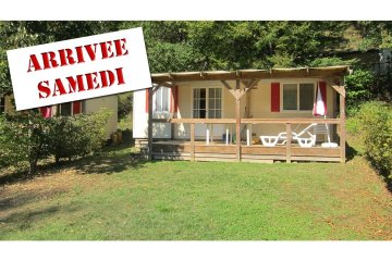 Mobil-Home PRIVILEGE  2 rooms (from Saturday to Saturday) - Le Moulin de David