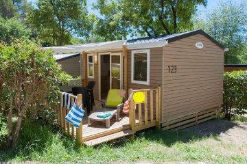 Nouveau Mobil-home - 1 chambres - 1 salle de bain - Cocon - Le Ruisseau