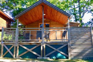 Chalet - 2 chambres - 1 salle de bain - Ecolodge spa - Le Ruisseau