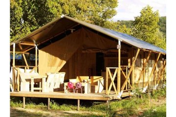 Tent - 2 bedrooms - 1 bathroom - Safari - Le Ruisseau