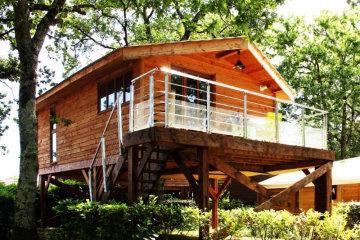 Chalet - 2 chambres - 1 salle de bain - Euskadi Lodge - Le Ruisseau