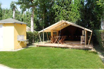 TENT LODGE 4 pers.( 2 adults + 2 children) - Le Dauphin