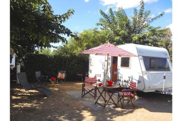 PACKAGE ** (Pitch + car + tent or caravan + electricity) - Club Farret