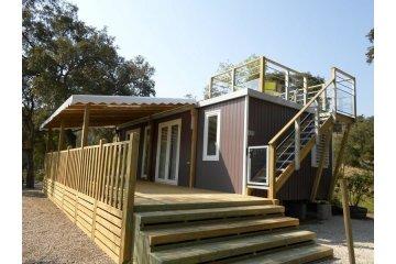 Cottage Premium - 2 chambres (solarium sur le toit, 34m²) - Domaine de la Bergerie