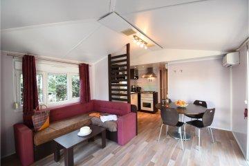 Mobil-home  SUPERIEUR CYCAS 40 m² - 2 chambres - La Baume