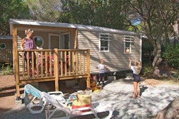Mobile Home STRELIZIA   27m² - 2 bedrooms/Terrace - La Baume