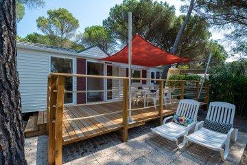 Mobil-home LES PINS 32 m² - 2 chambres - La Baume