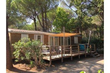 Mobil-home ACAJOU 40 m² -  3 chambres /2 salles de bain - La Baume